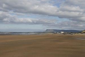 strandhill beach sligo, short drive to clayton hotel