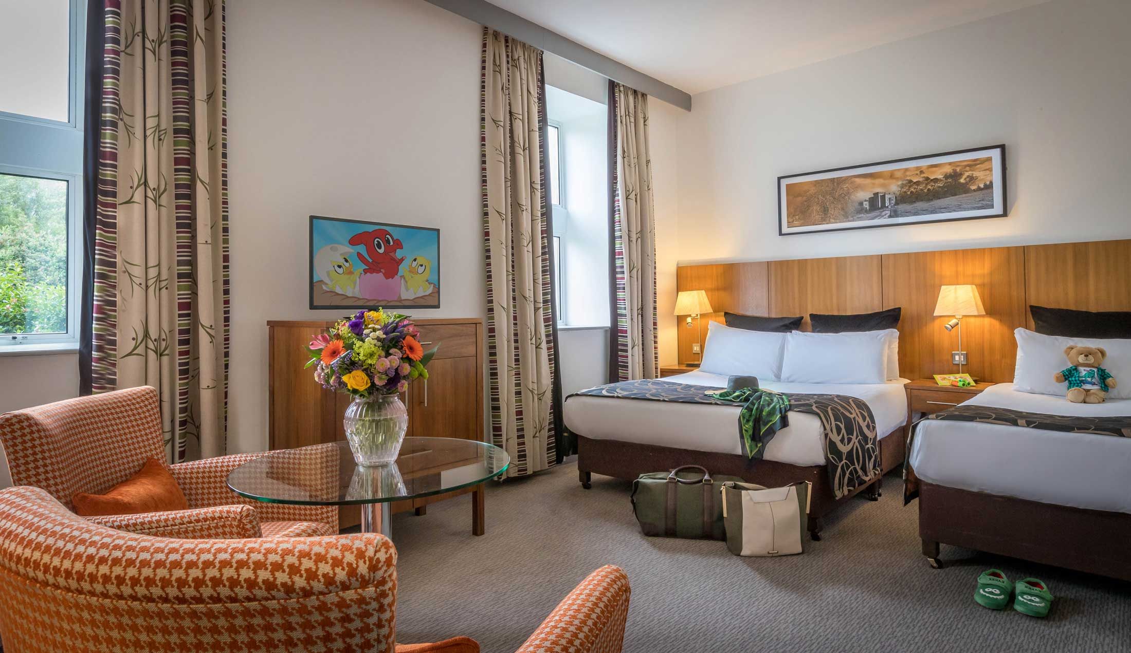 Family-Suite-bedroom-at-Clayton-Hotel-Sligo