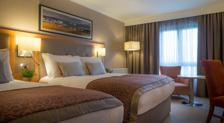 Twin bedroom at Clayton Hotels