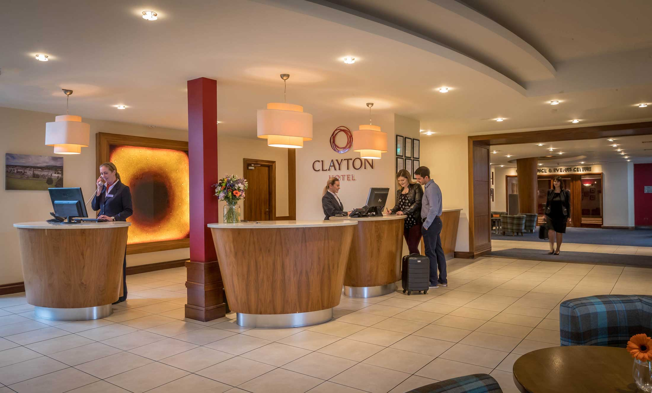 guests-checking-in-to-Clayton-Hotel-Sligo