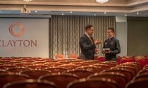 Clayton-Hotel-Sligo-team-setting-up-for-event-in-Pegasus-Suite