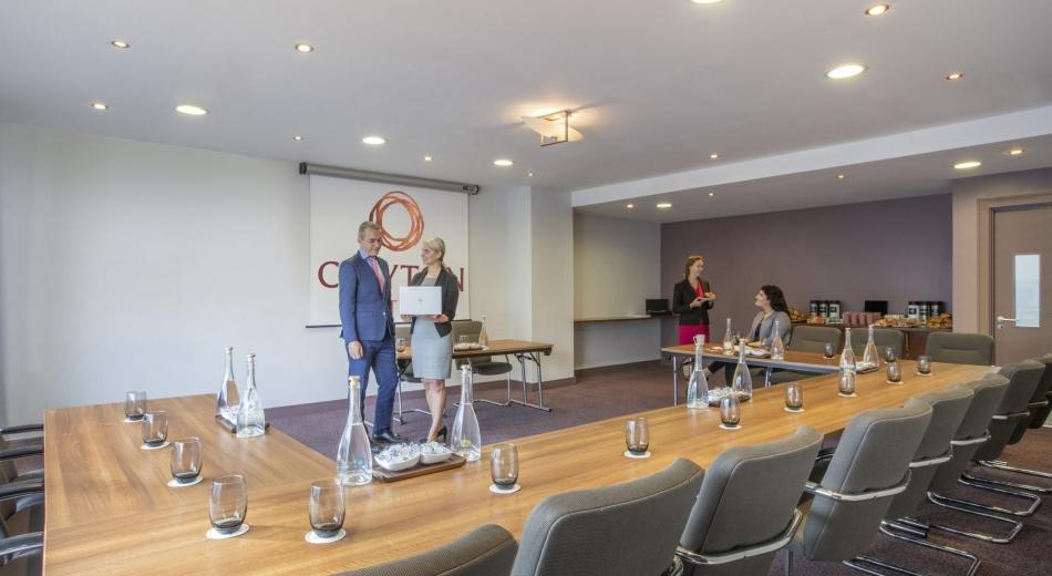 Meeting room in Clayton Hotel Sligo